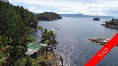 Nelson Island Main Cottage, Guest Cabin & Dock for sale: 1,089 sq.ft. (Listed 2019-06-20)